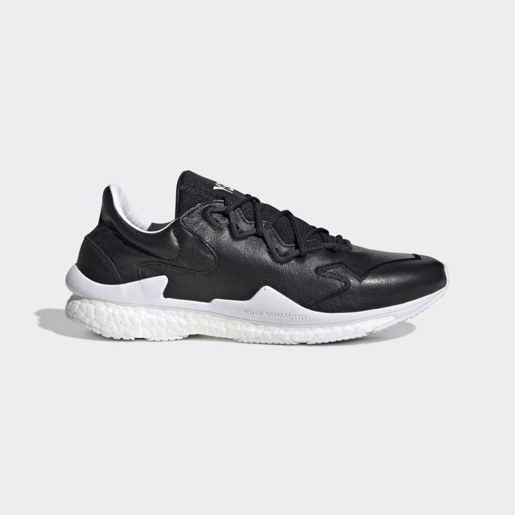 adidas Y-3 Adizero Runner Leather Black White