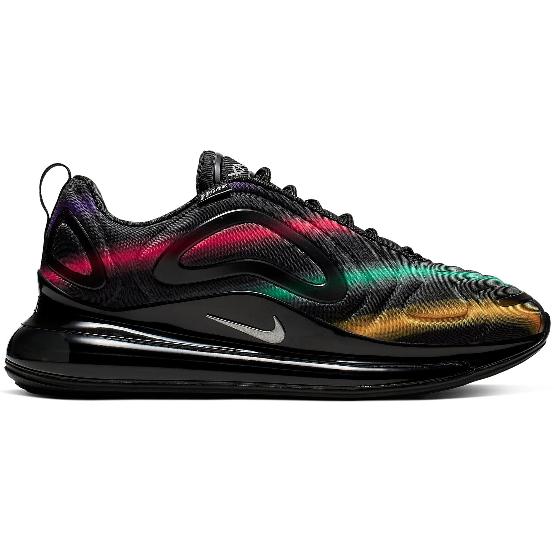 Nike Air Max 720 Black Neon Streaks (AO2924-023)