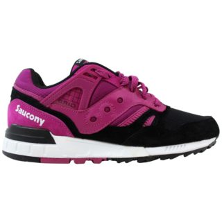 Saucony Grid Sd Premium Shoes Berry/Black