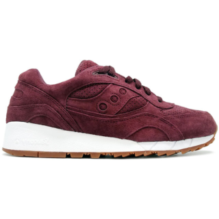 Saucony Shadow 6000 Burgundy Suede (Packer Shoes)