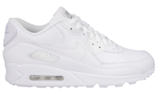 Nike Air Max 90 Leather 302519 113 Wit