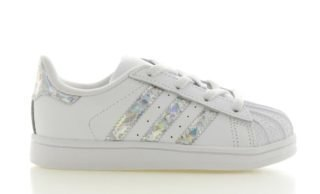 Adidas adidas Superstar Wit/Holographic Peuters