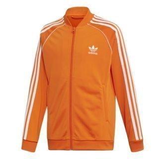 Adidas adidas Superstar Trainingsjack oranje kinderen