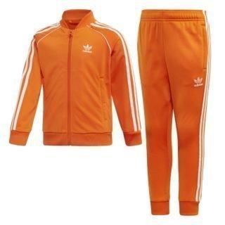 Adidas adidas Superstar Trainingspak Oranje Kinderen