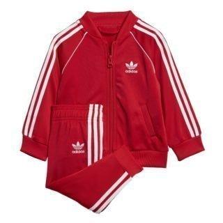 Adidas adidas Superstar Trainingspak Rood Peuters