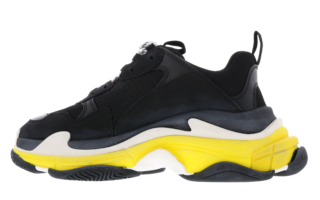 Triple S Pernament Black Yello Zwart