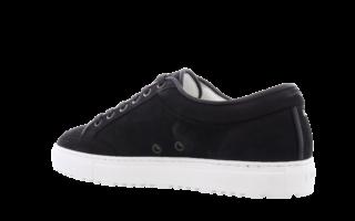 LT02 Nubuck Black Zwart