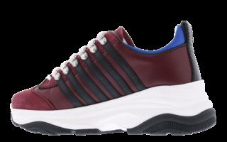 251 Bumpy Sneaker Rood