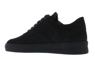 Nardo Nubuck All Black Zwart