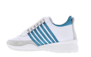 251 VELVET Bianco Azzurro Wit