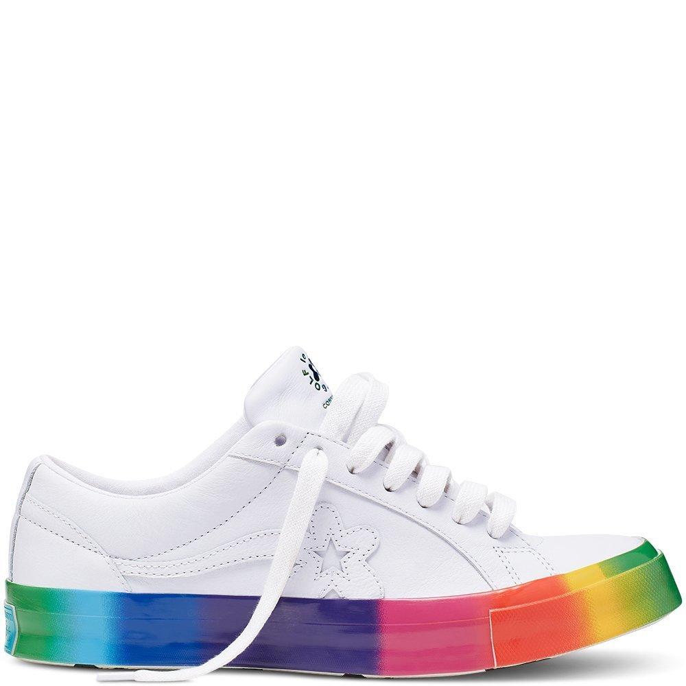 Converse One Star Ox Golf Le Fleur Rainbow Sole
