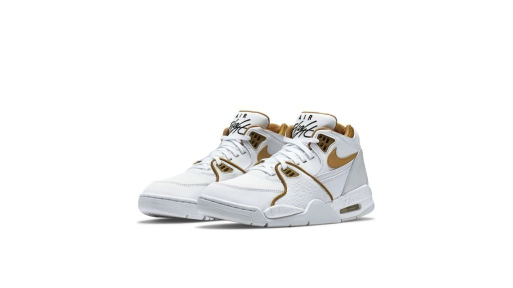 Air Flight 89 White Fly Gold