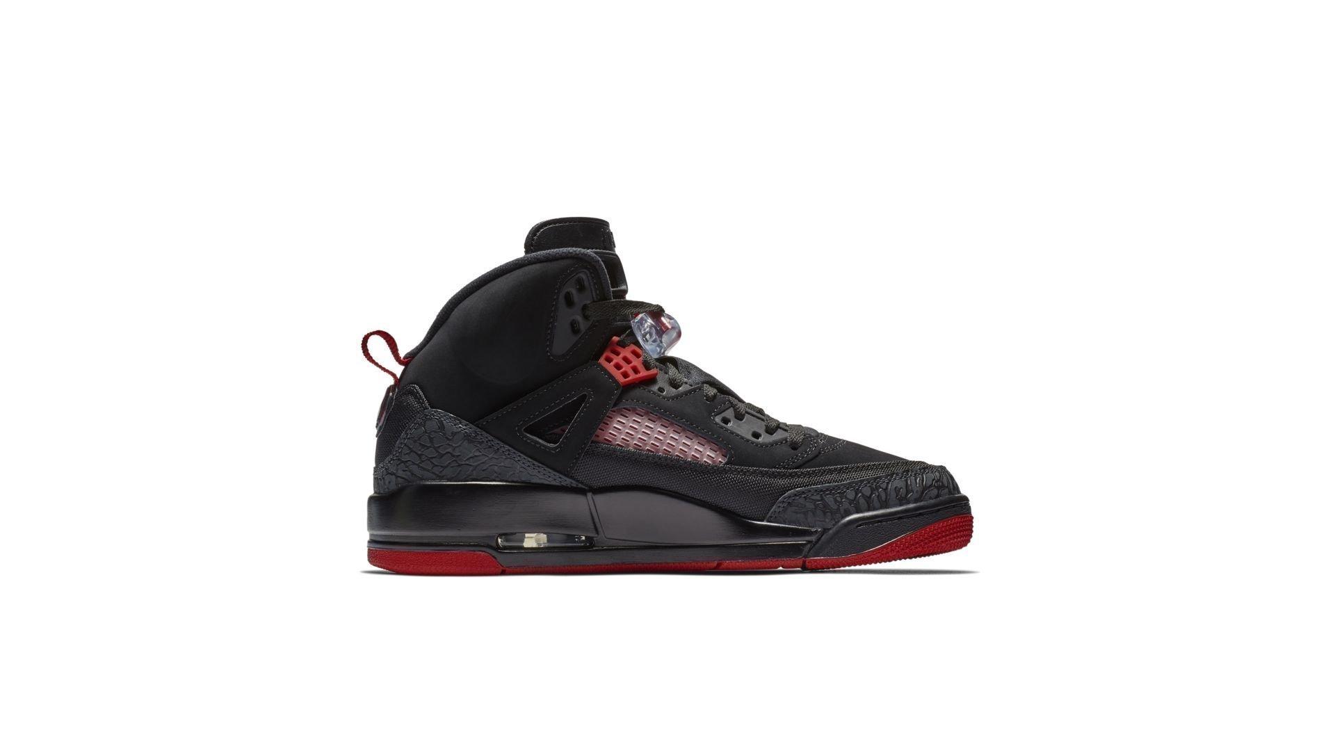 Jordan Spizike Black Gym Red (315371-006)