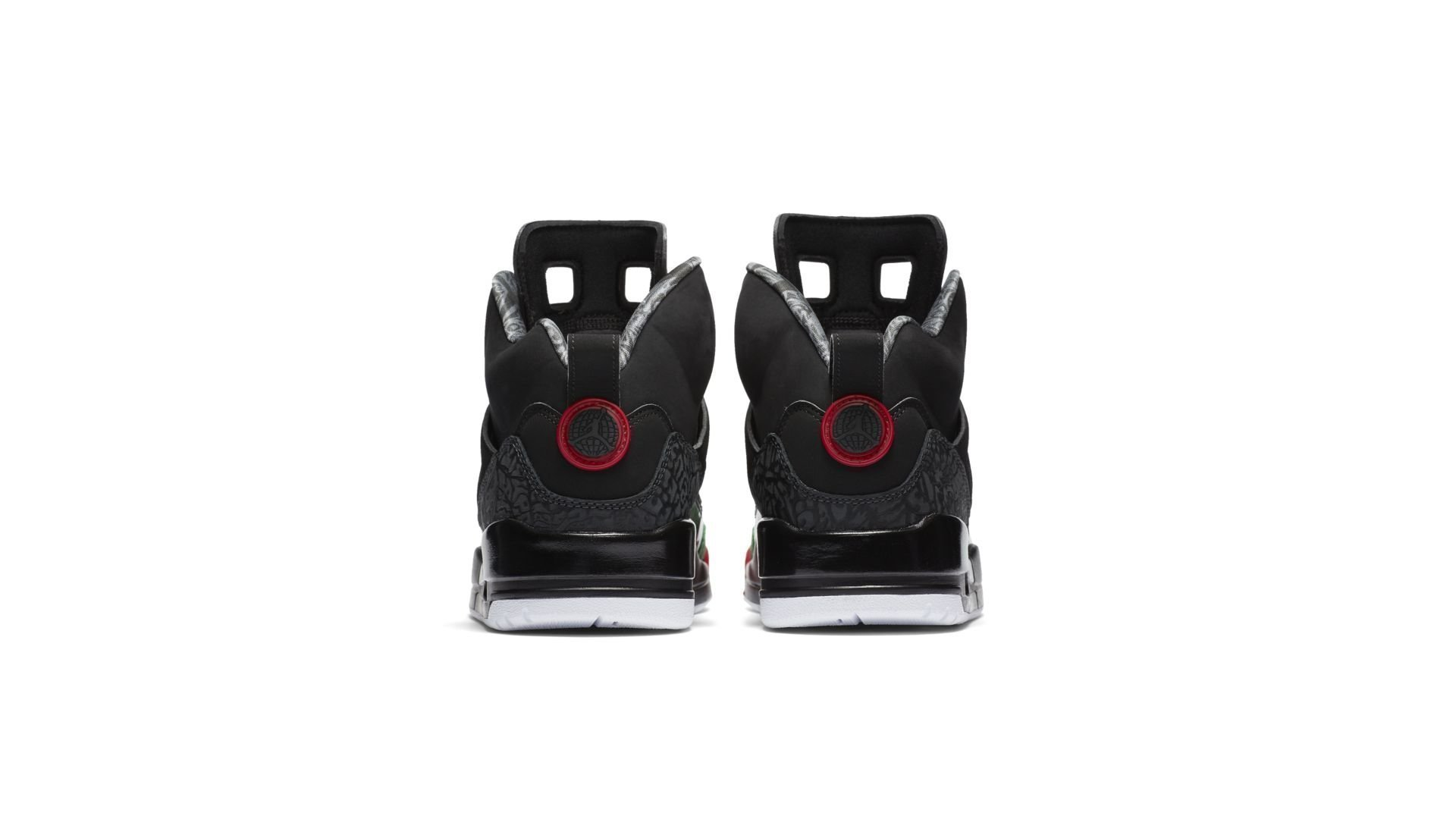 Jordan Spizike Black Varsity Red (2017) (315371-026)