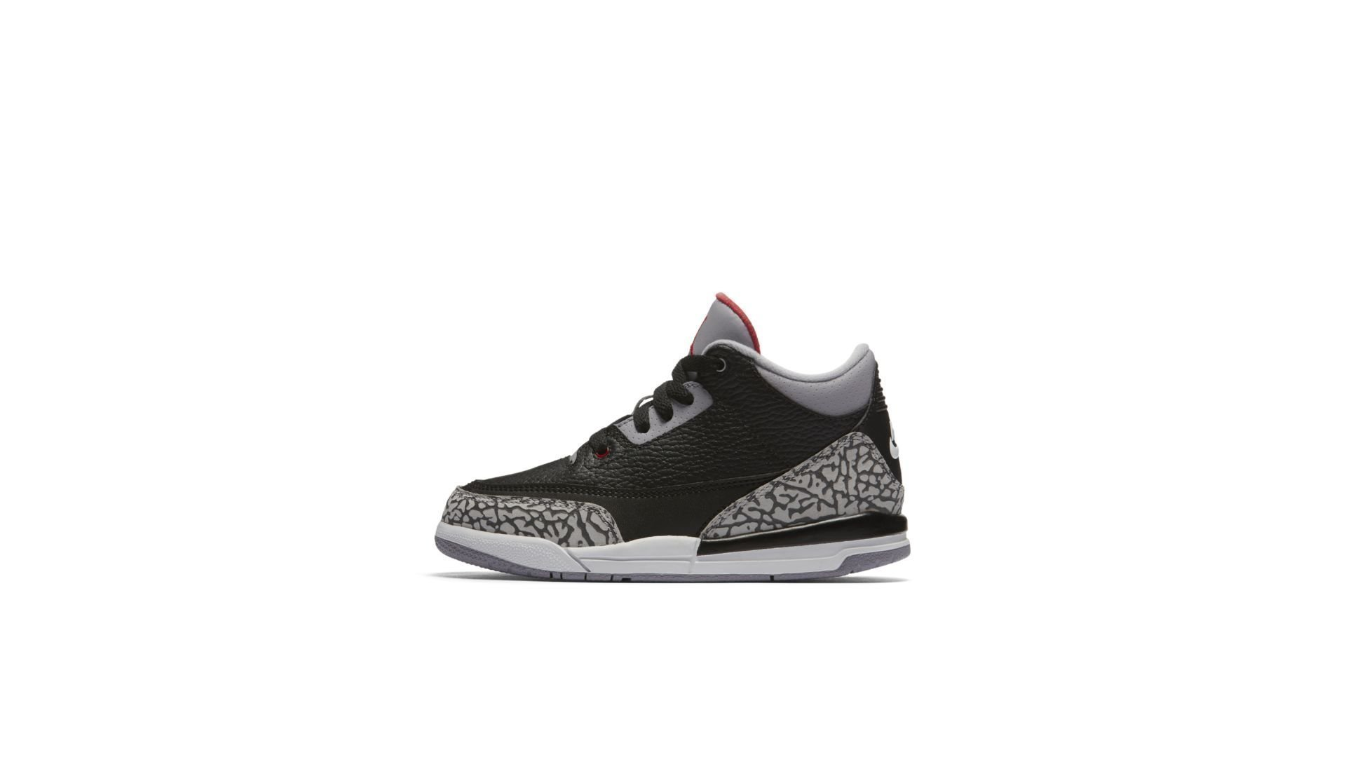 Jordan 3 Retro Black Cement 2018 (PS) (429487-021)
