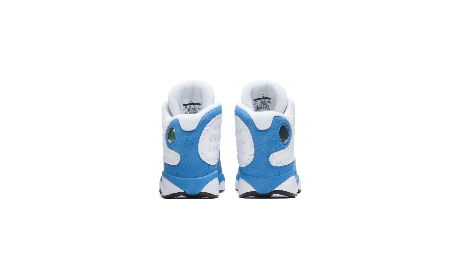 Jordan 13 Retro White Italy Blue (GS) (439358-107)