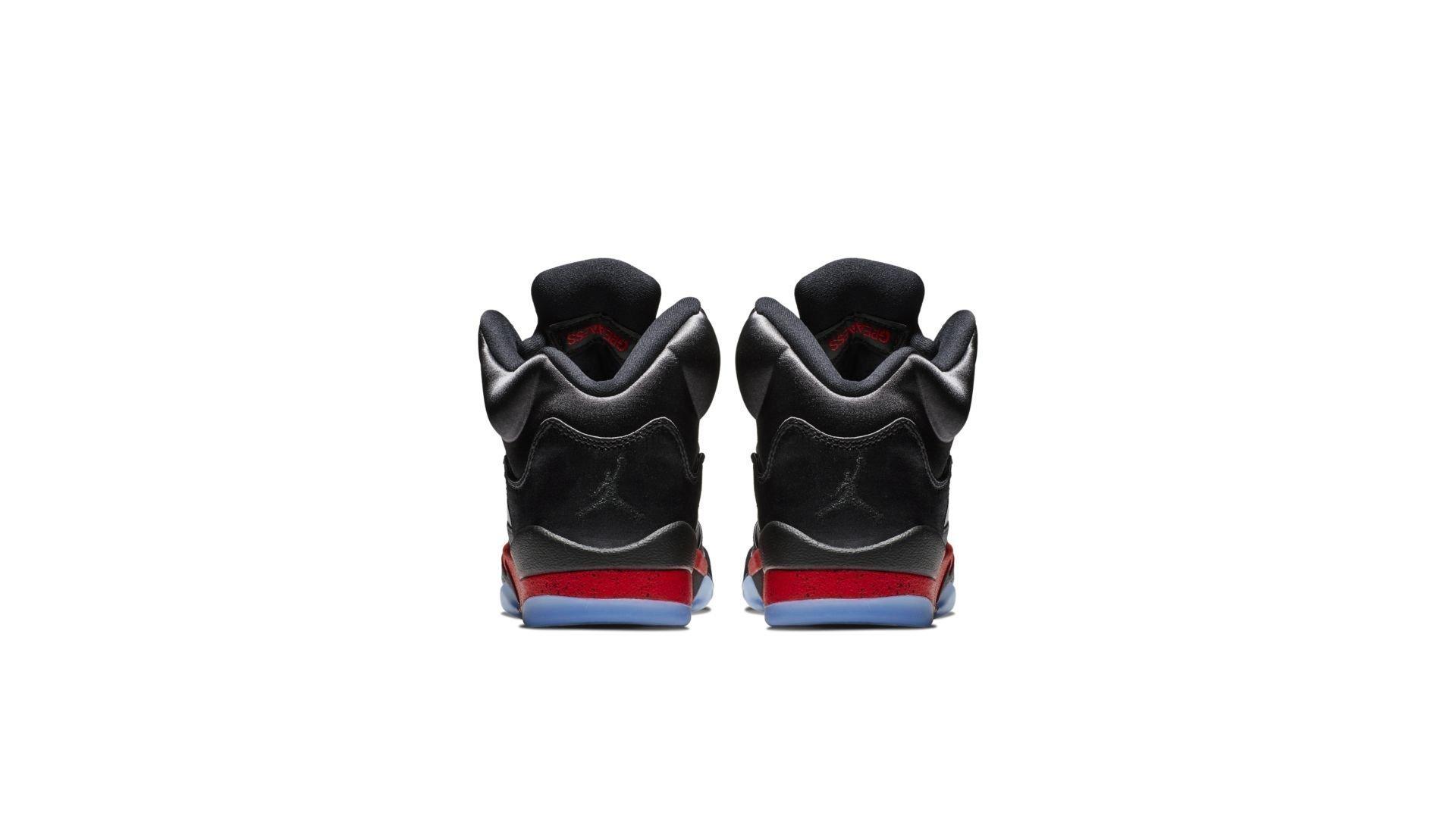 Jordan 5 Retro Satin Bred (GS) (440888-006)