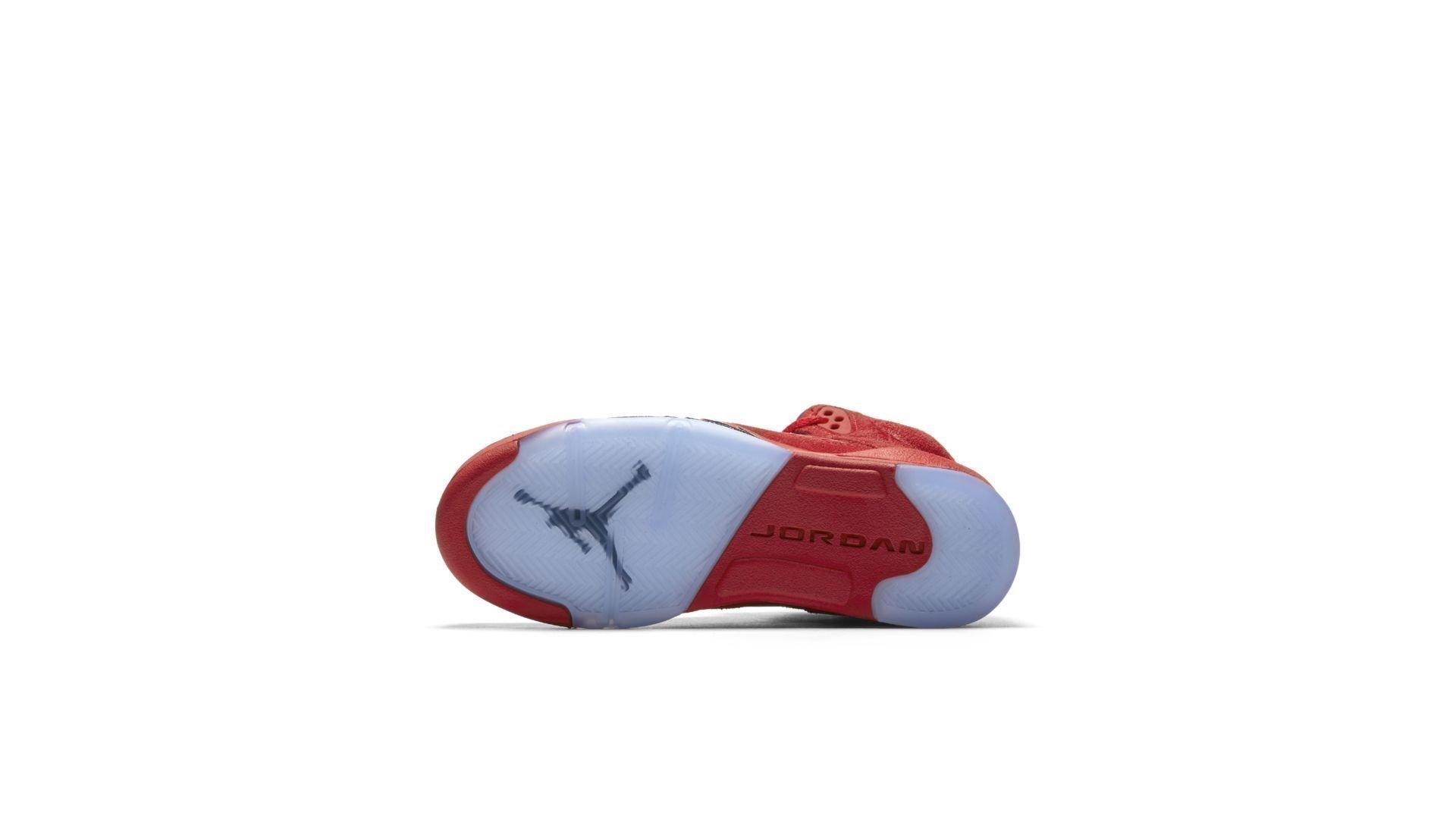 Jordan 5 Retro Red Suede (GS) (440888-602)