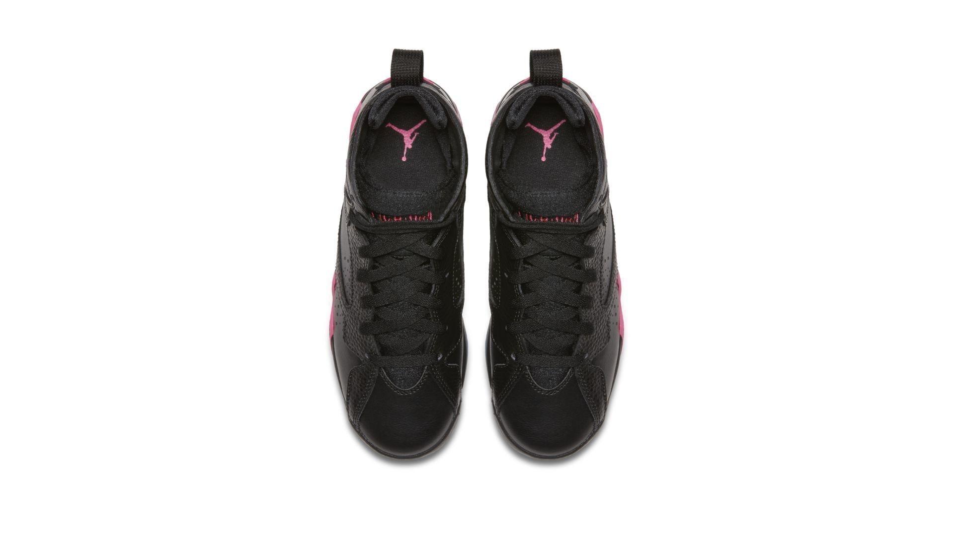Jordan 7 Retro Black Hyper Pink (GS) (442960-018)