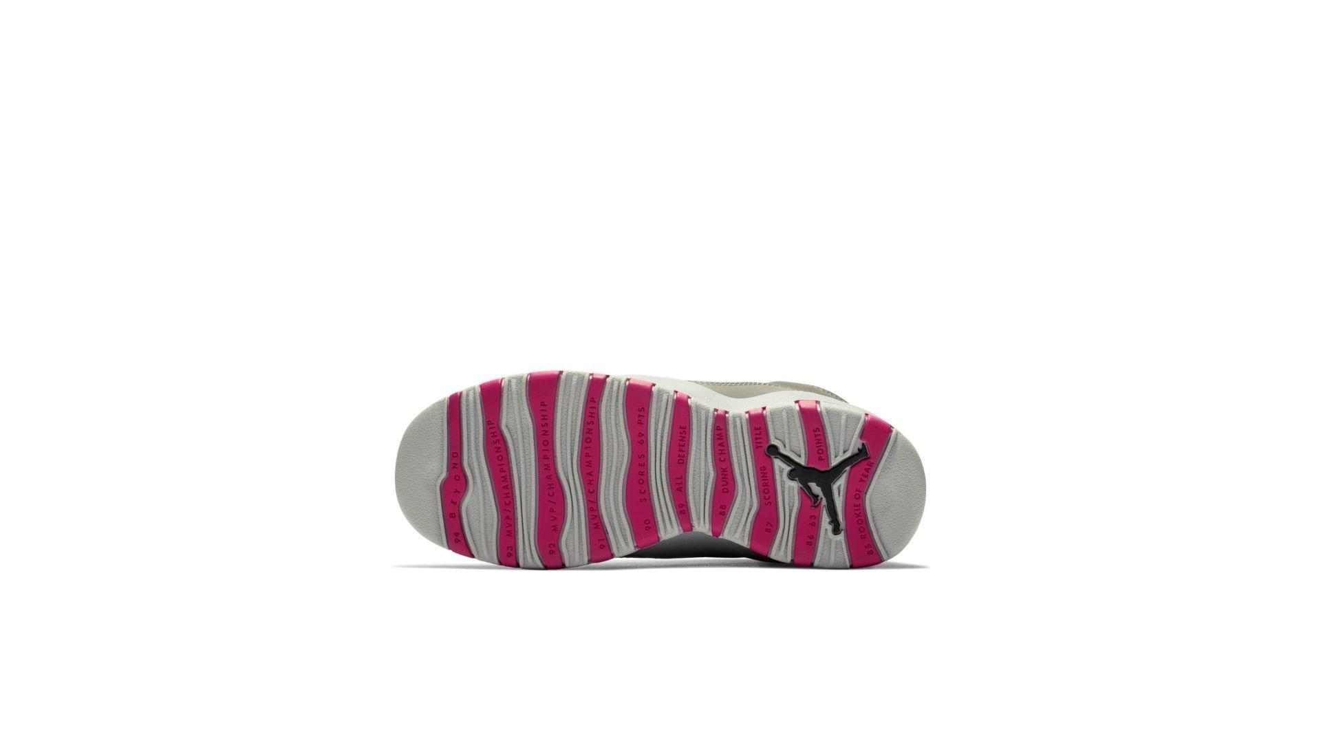 Jordan 10 Retro Rush Pink (GS) (487211-006)