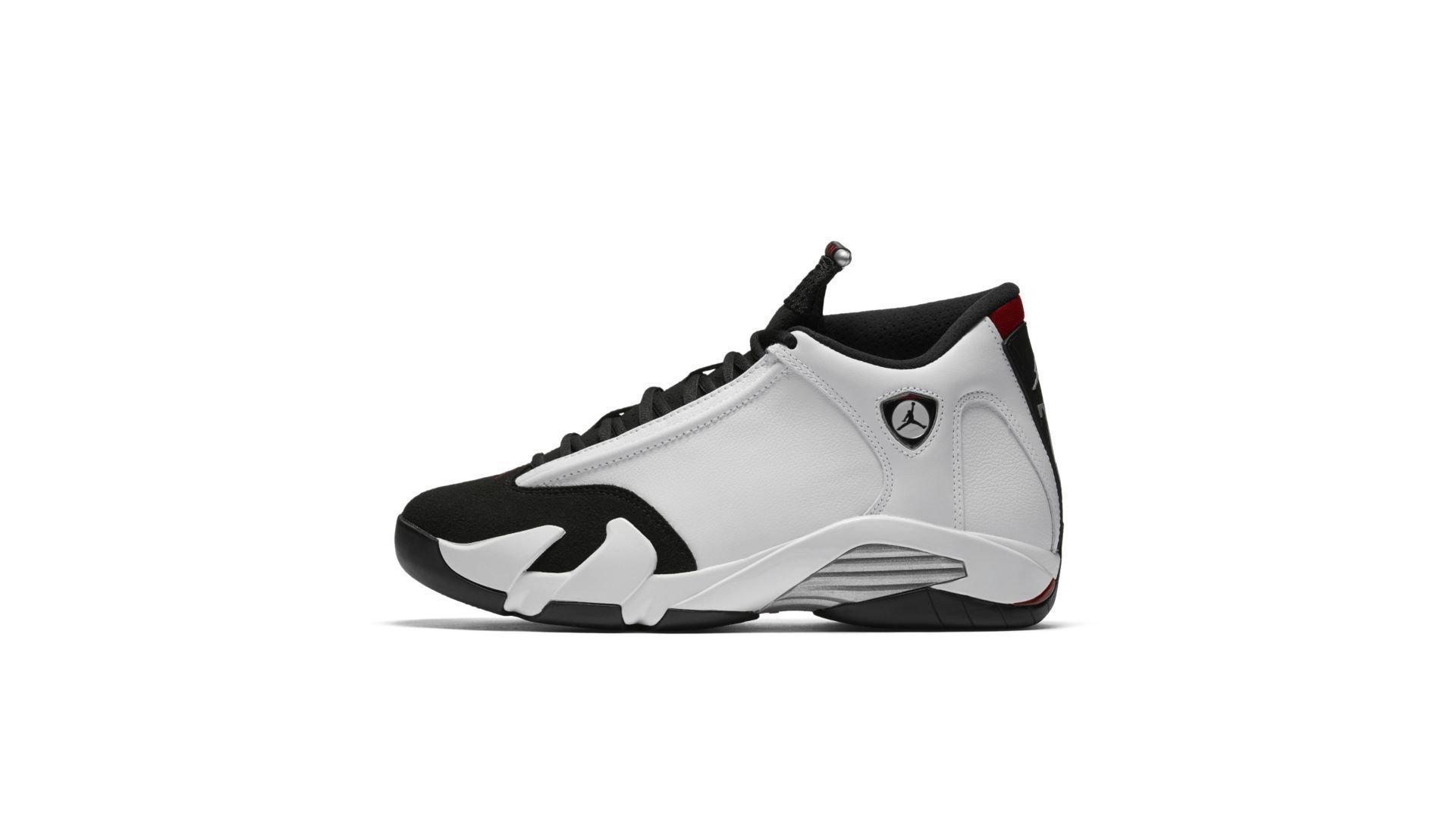 Jordan 14 Retro Black Toe (2014) (487471-102)