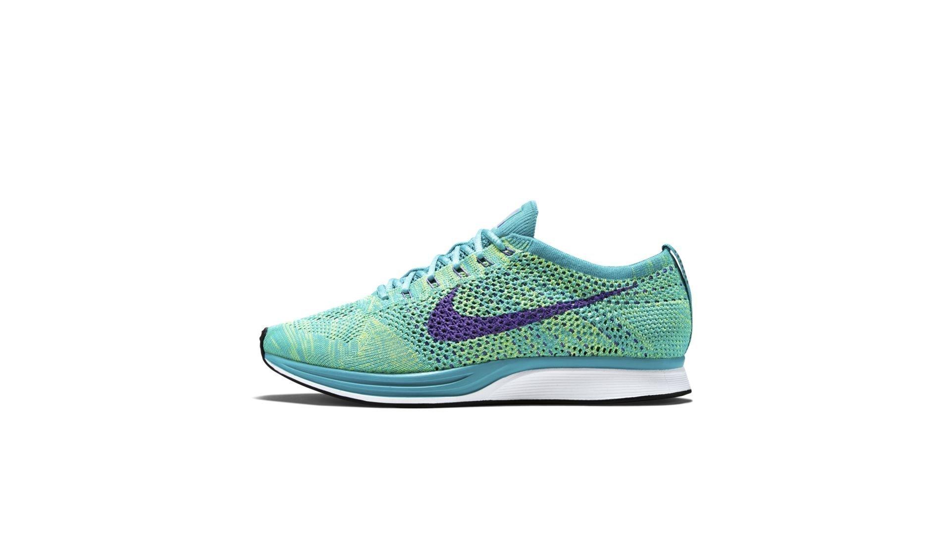 Nike Flyknit Racer Sport Turquoise Hyper Grape (526628-301)