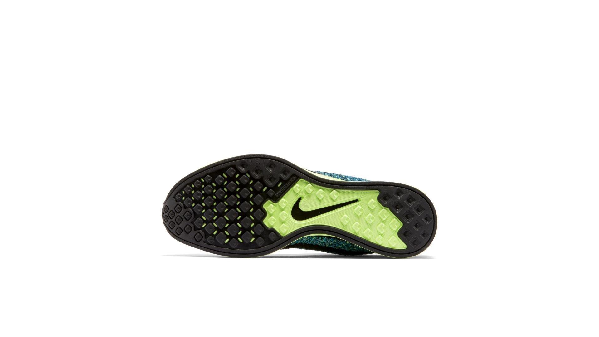 Nike Flyknit Racer Blue Gecko (526628-401)
