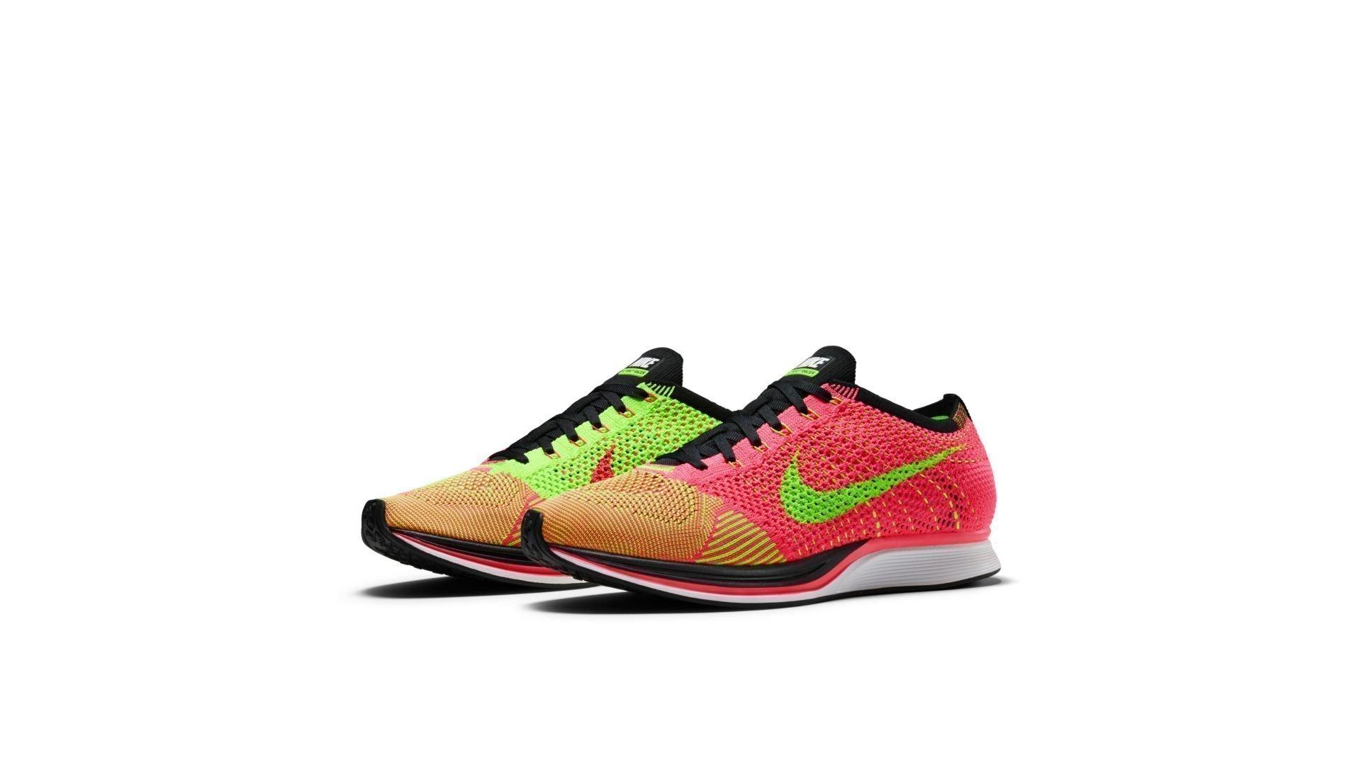 Nike Flyknit Racer Hyper Punch (526628-603)