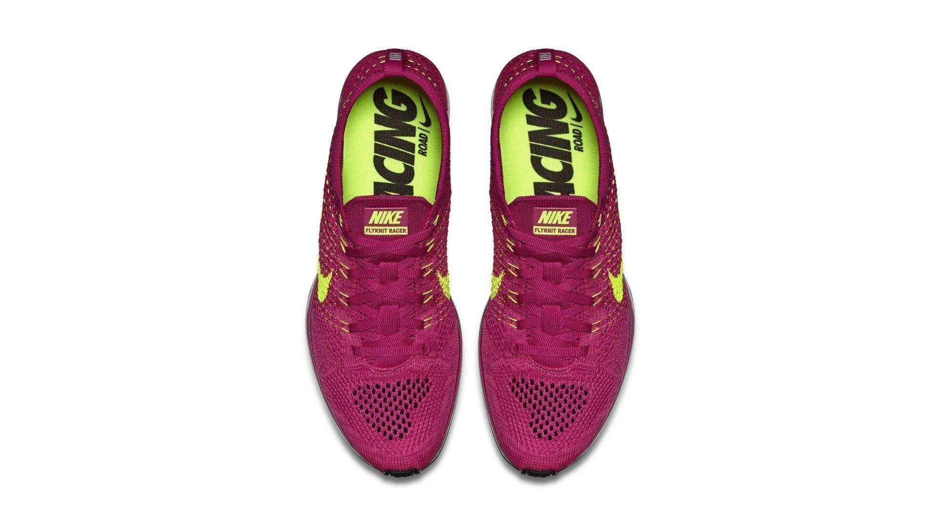 Nike Flyknit Racer Fireberry (526628-607)