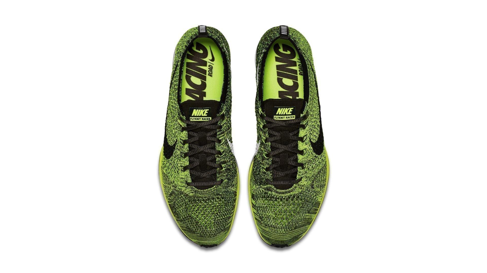 Nike Flyknit Racer Volt (2016) (526628-731)