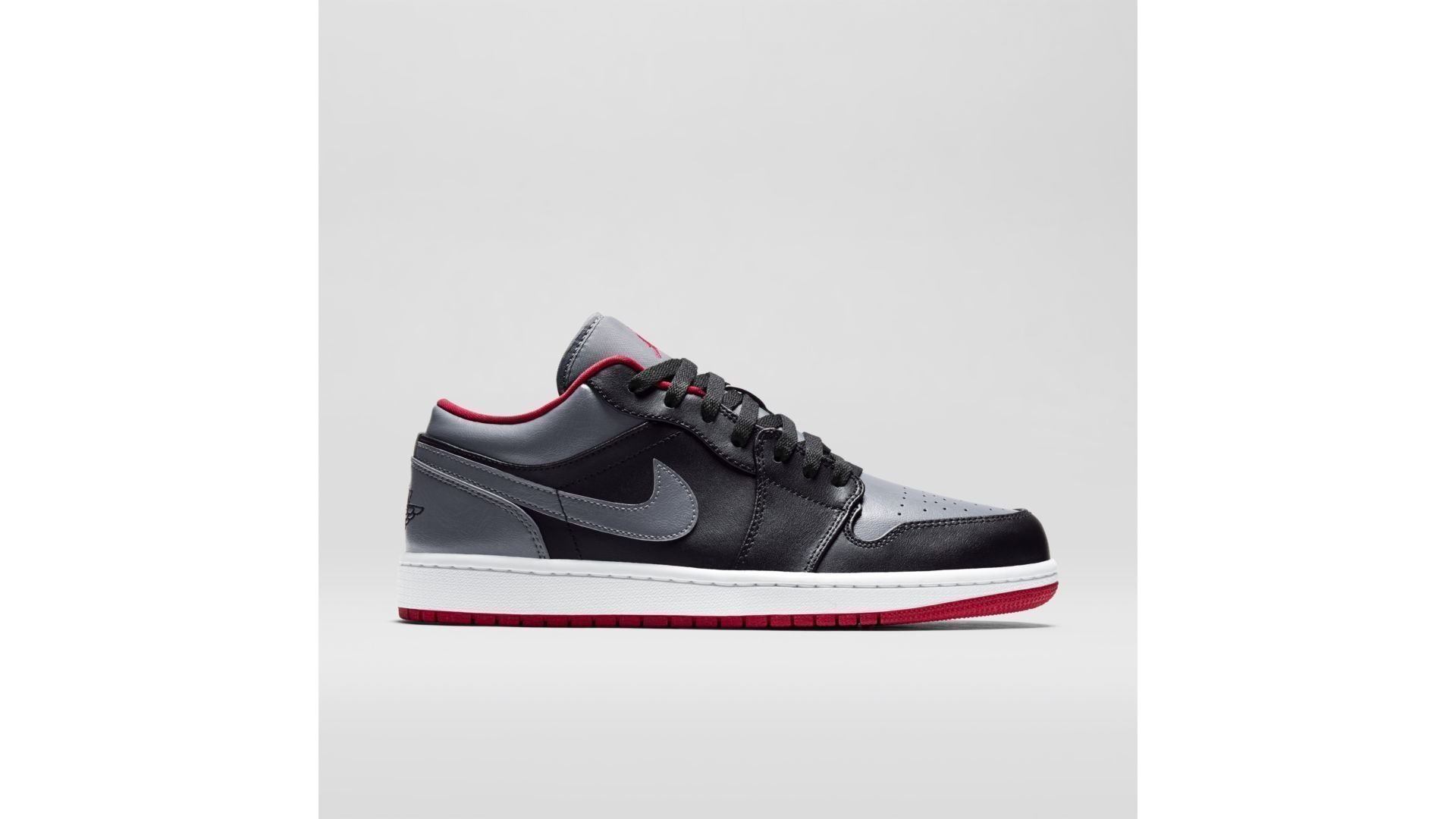 Jordan Air 1 Low Color Bred Grey (553558-012)