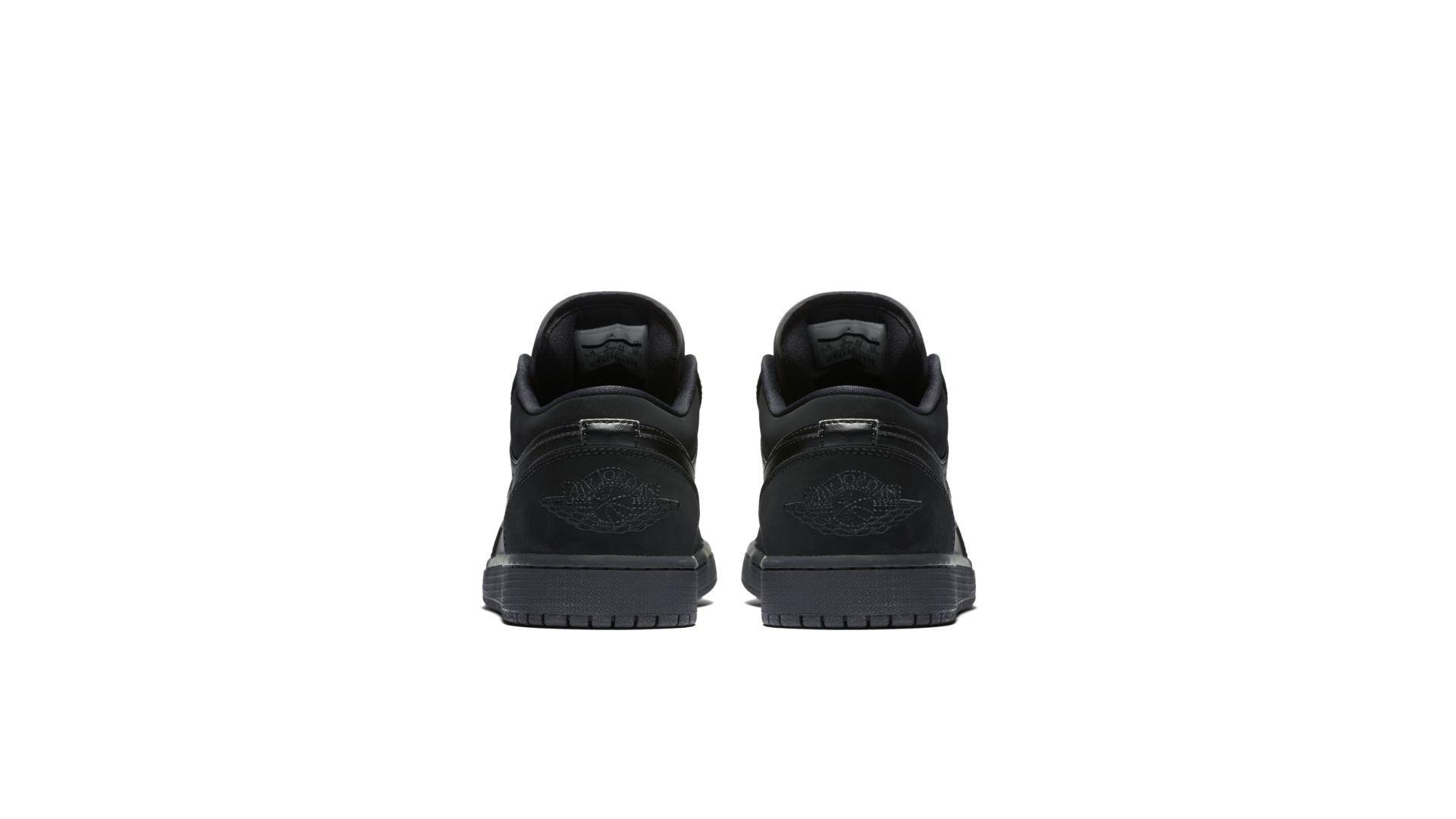 Jordan 1 Retro Low Triple Black (553558-025)