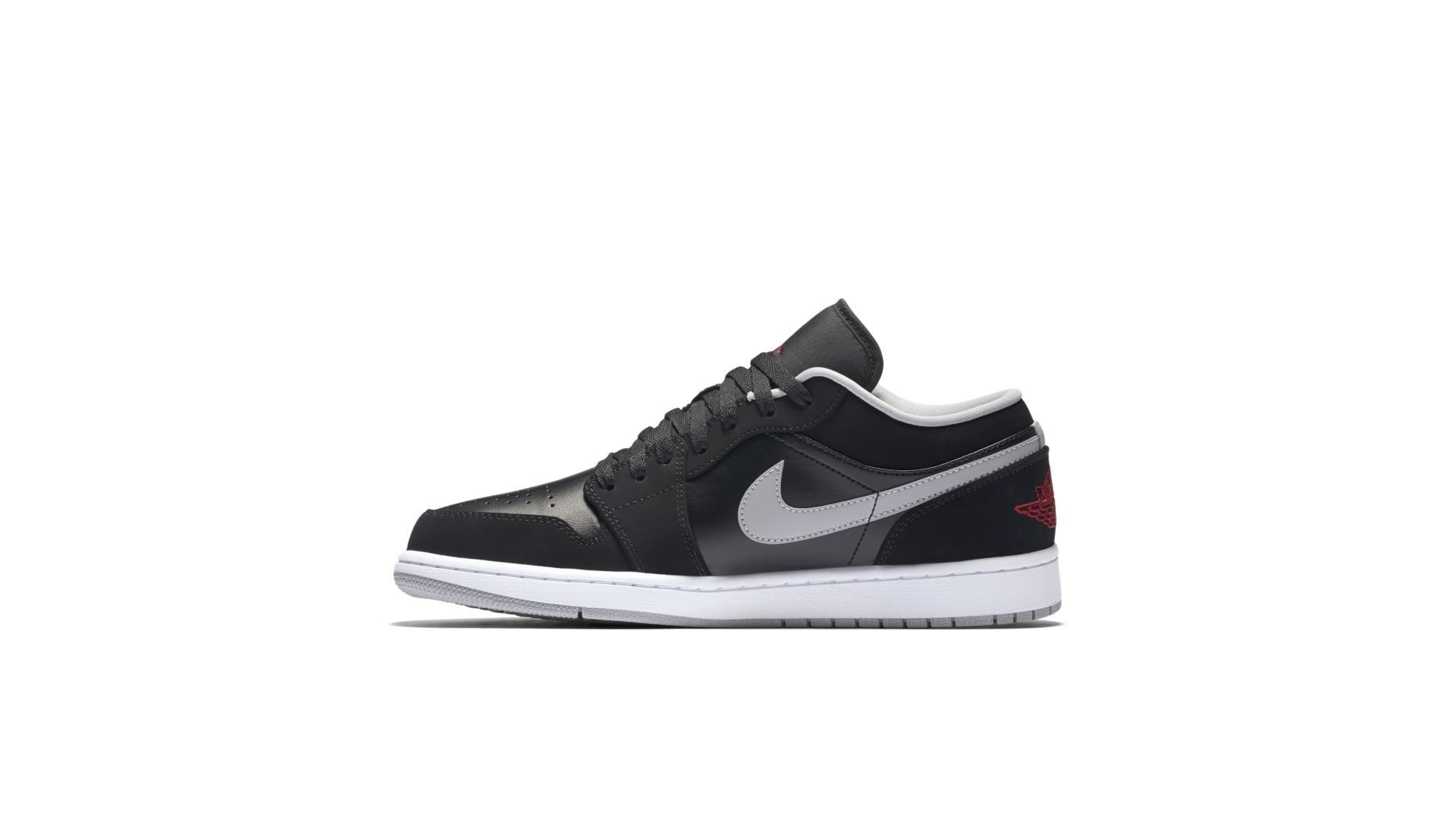 Jordan 1 Low Black Wolf Grey (553558-032)