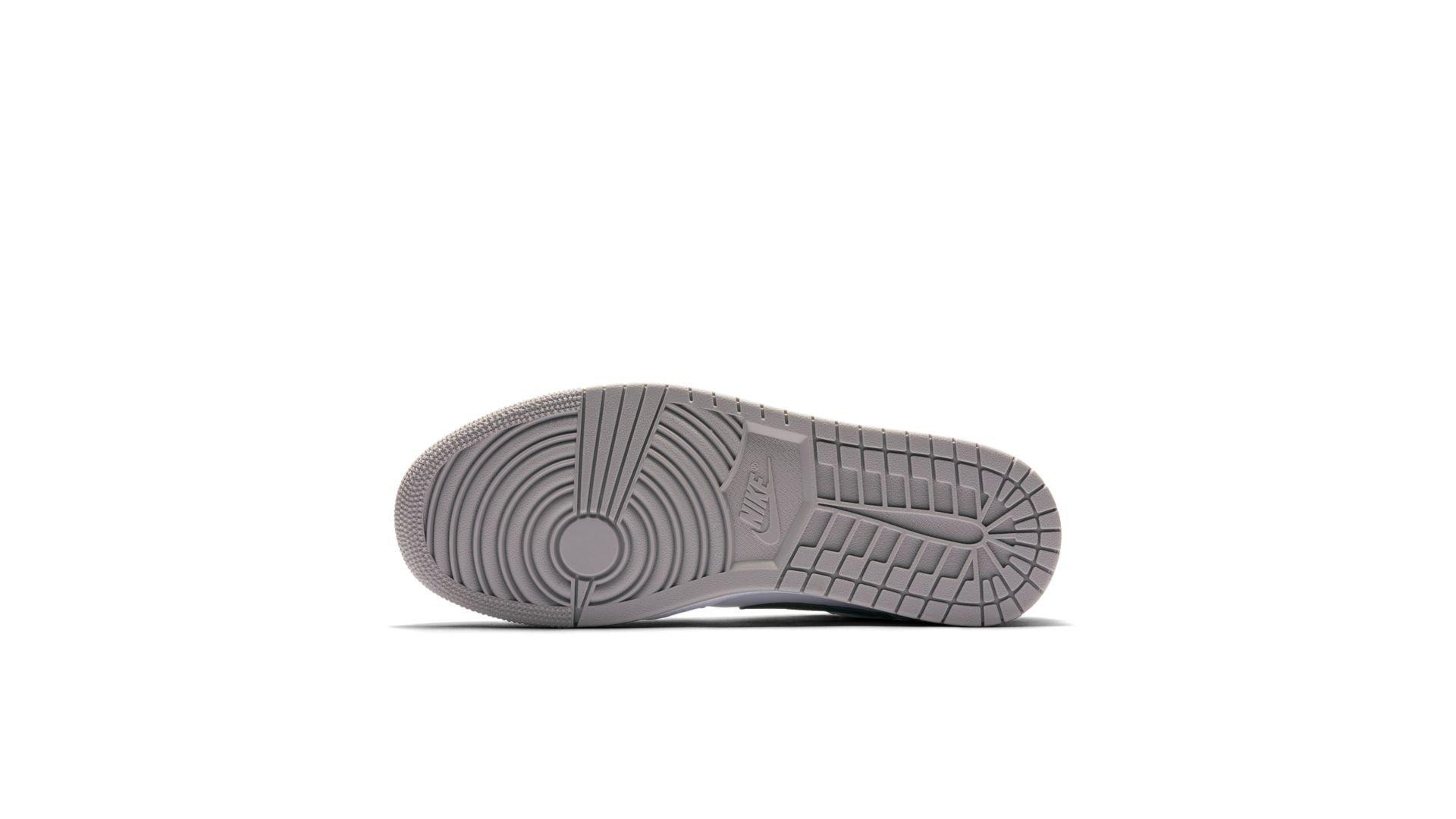 Jordan 1 Low Grey Toe (553558-110)