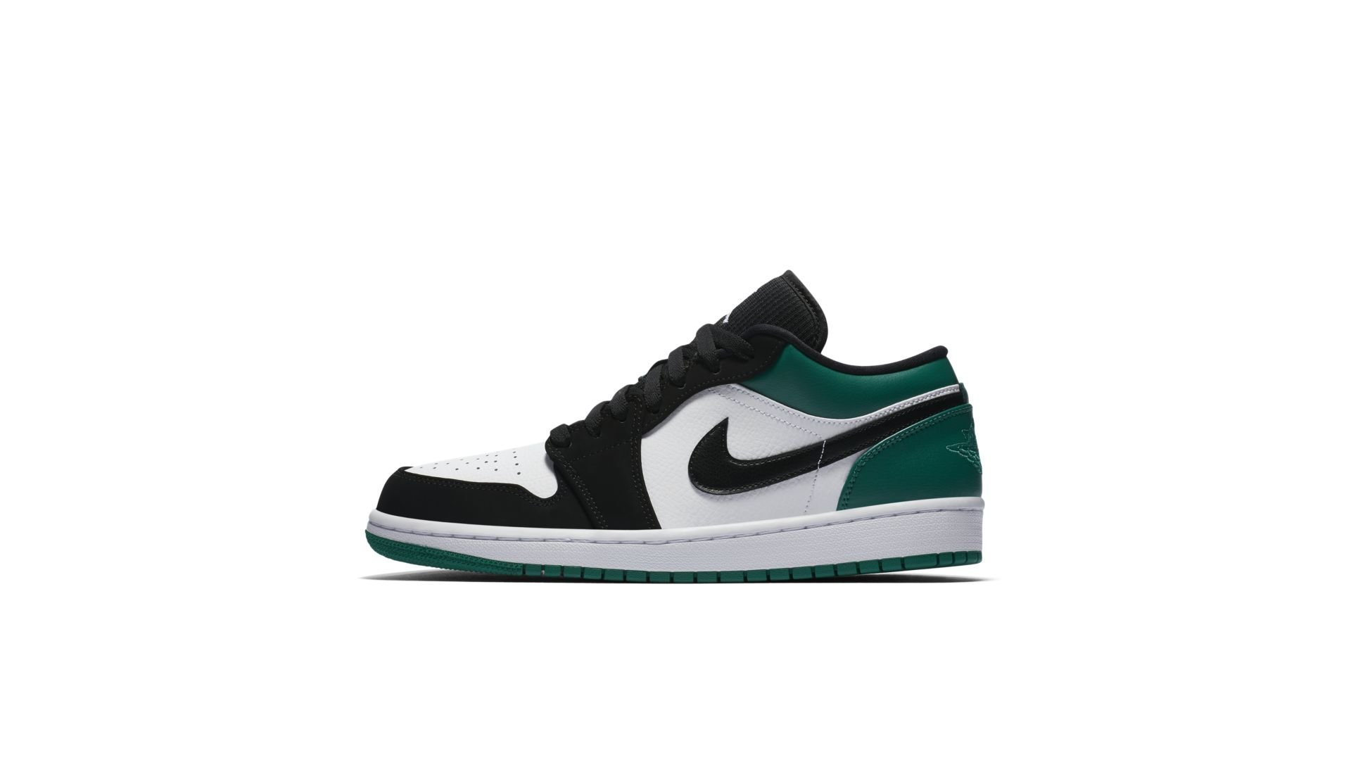 Jordan 1 Low White Black Mystic Green (553558-113)