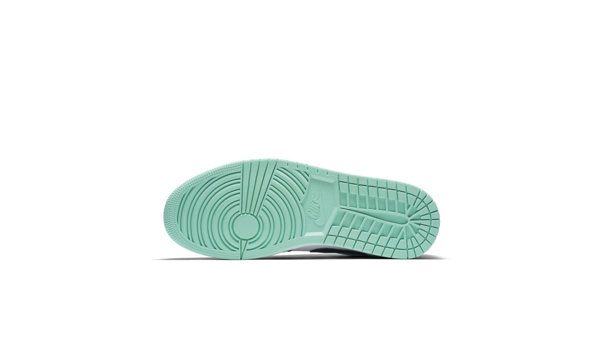Jordan 1 Low Emerald Toe (553558-117)