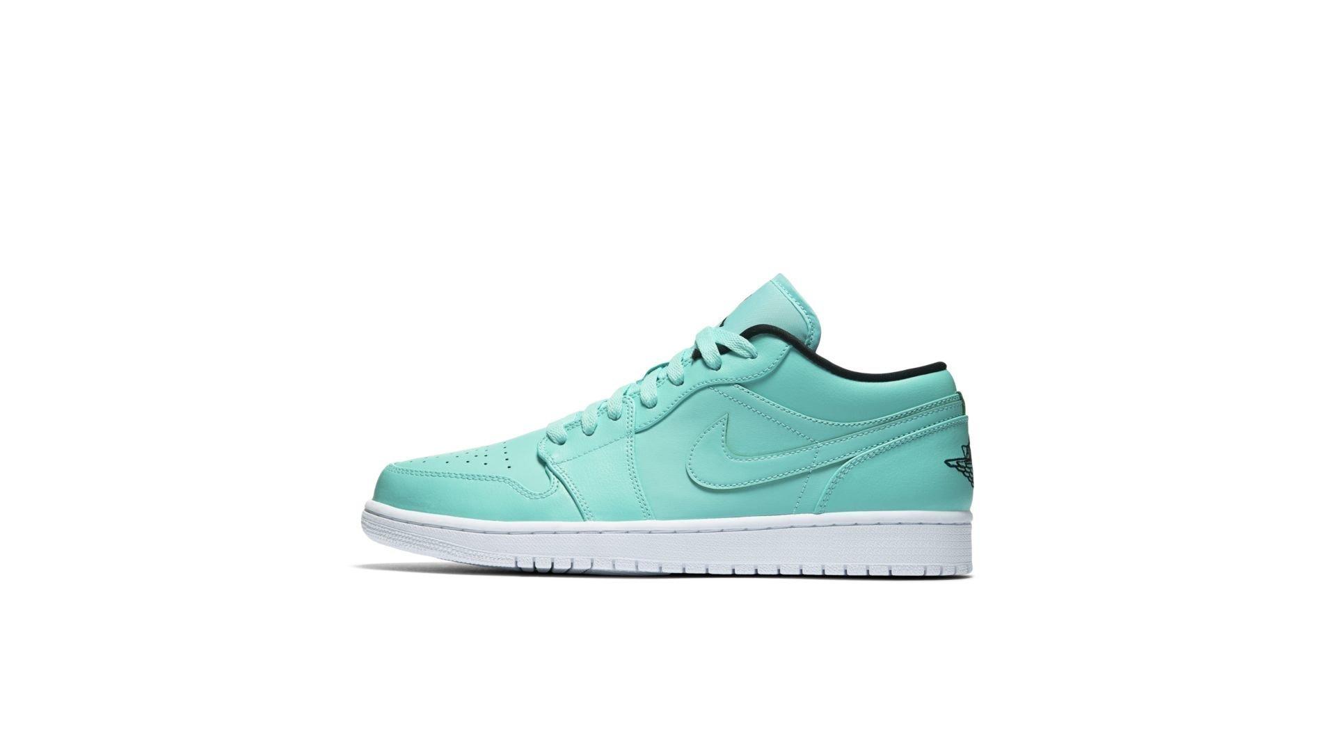 Jordan 1 Low Hyper Turquoise (553558-304)