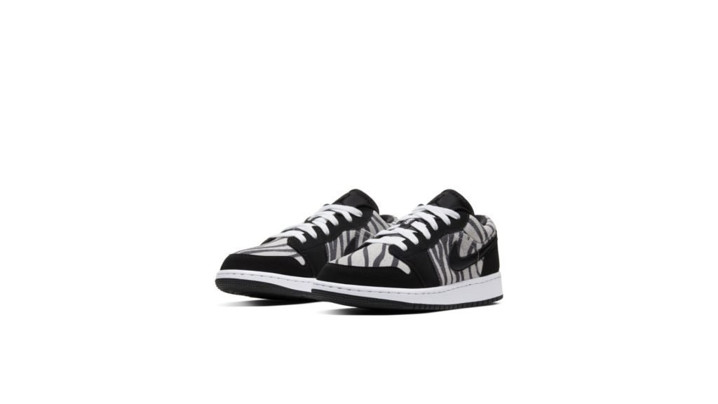 Jordan 1 Low Zebra (GS)