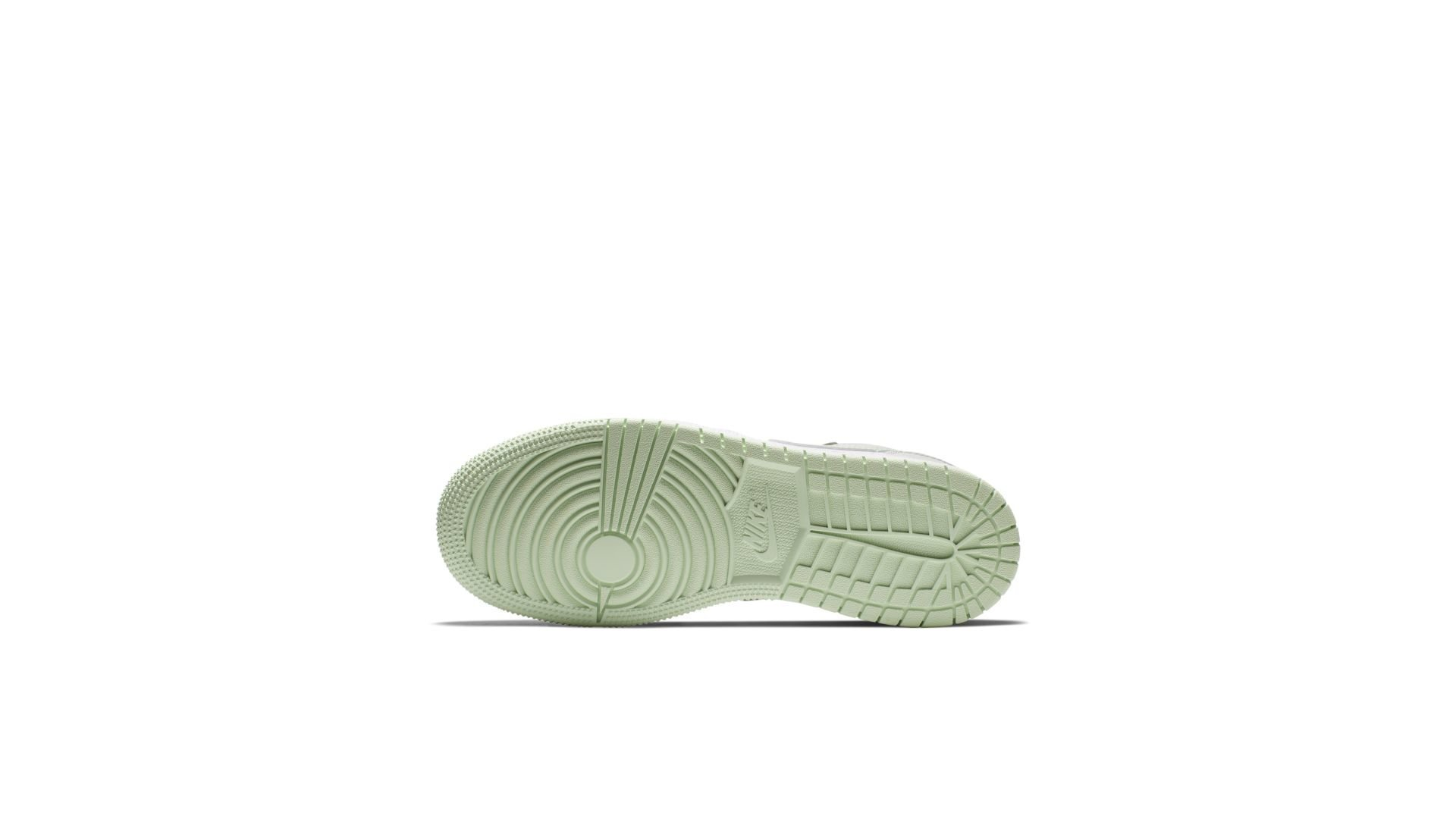Jordan 1 Low Barely Grey Frosted Spruce (GS) (554723-051)