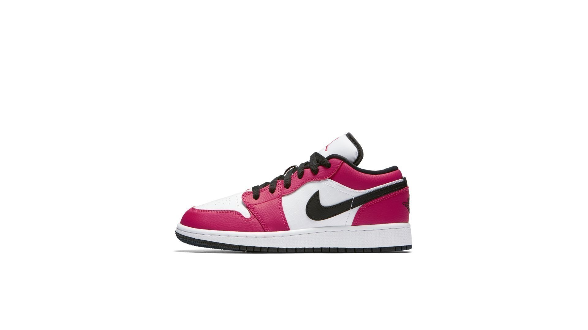 Jordan 1 Low Rush Pink (GS) (554723-600)