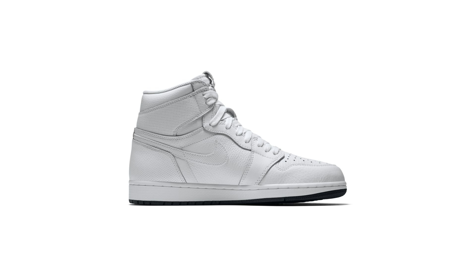 Jordan 1 Retro White Perforated (555088-100)