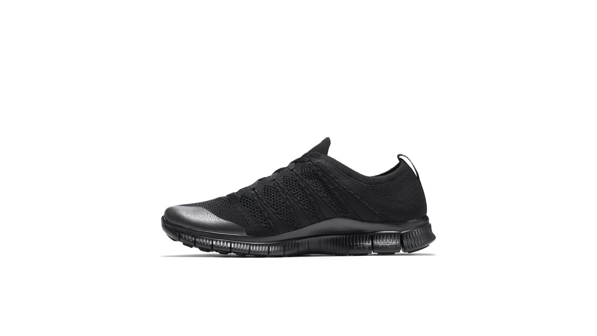 Nike Free Flyknit NSW Triple Black (599459-005)