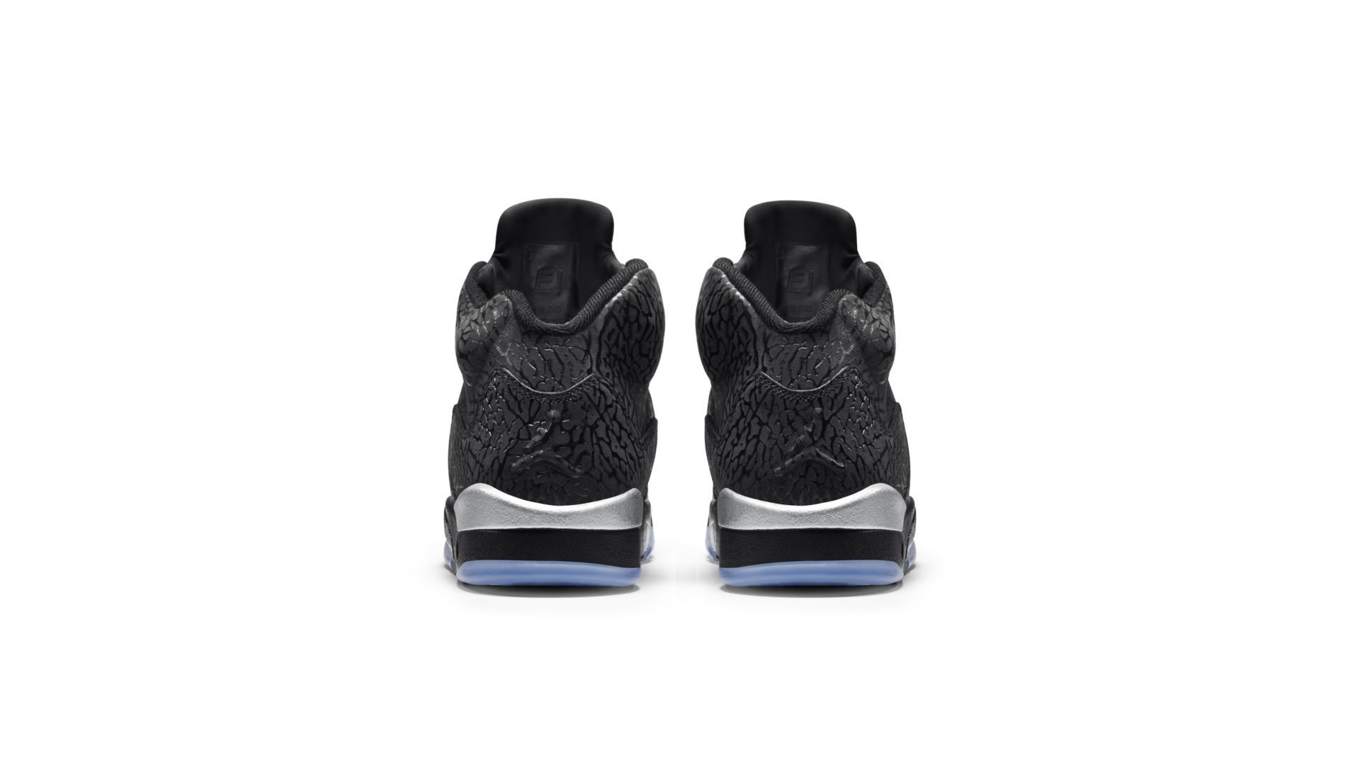 Jordan 5 Retro 3Lab5 Black Silver (599581-003)