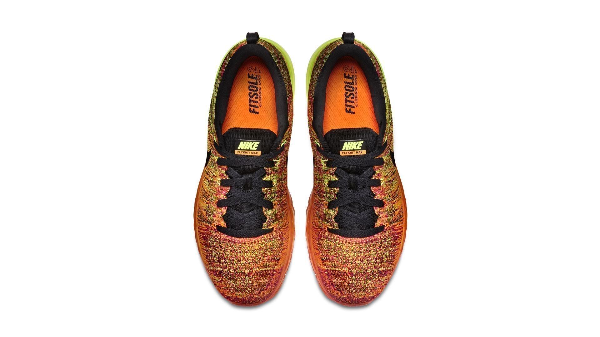 Nike Flyknit Max Total Orange Fireberry (620469-801)