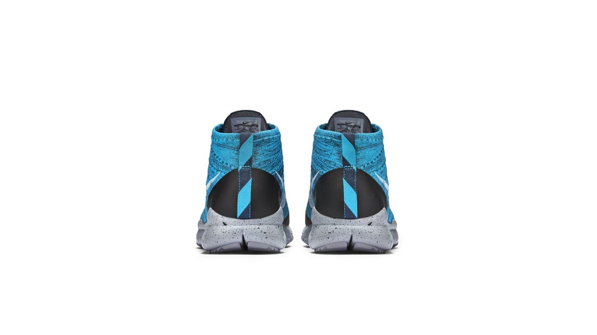 Nike Flyknit Trainer Chukka FSB Squadron Blue White (625009-401)