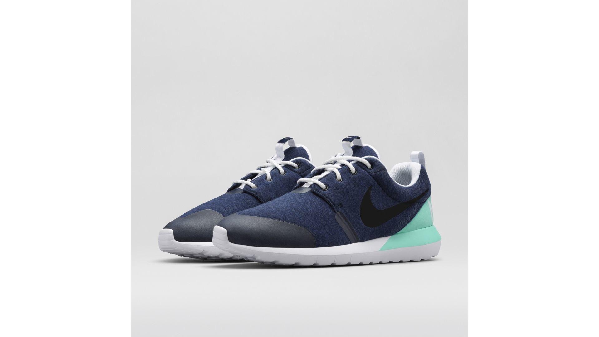 Nike Roshe Run Tech Fleece Obsidian (652804-403)