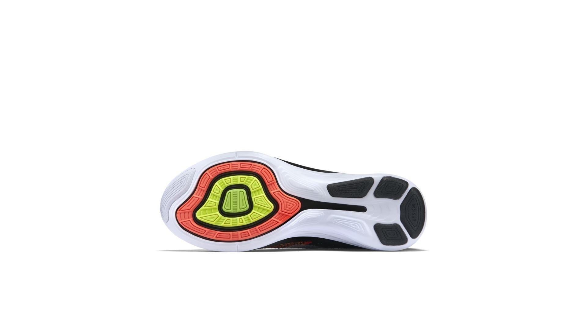 Nike Flyknit Lunar3 Orange Toe (698181-007)