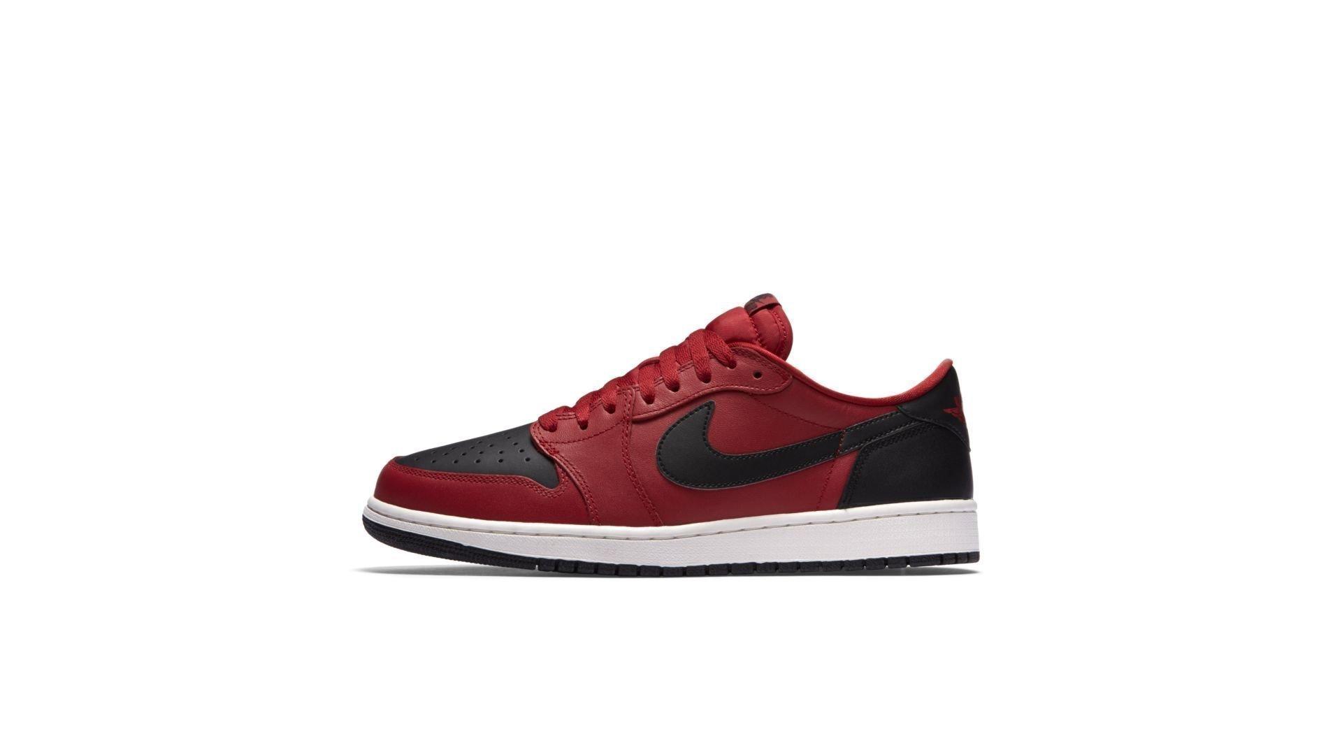 Jordan 1 Retro Low Gym Red Black (705329-601)