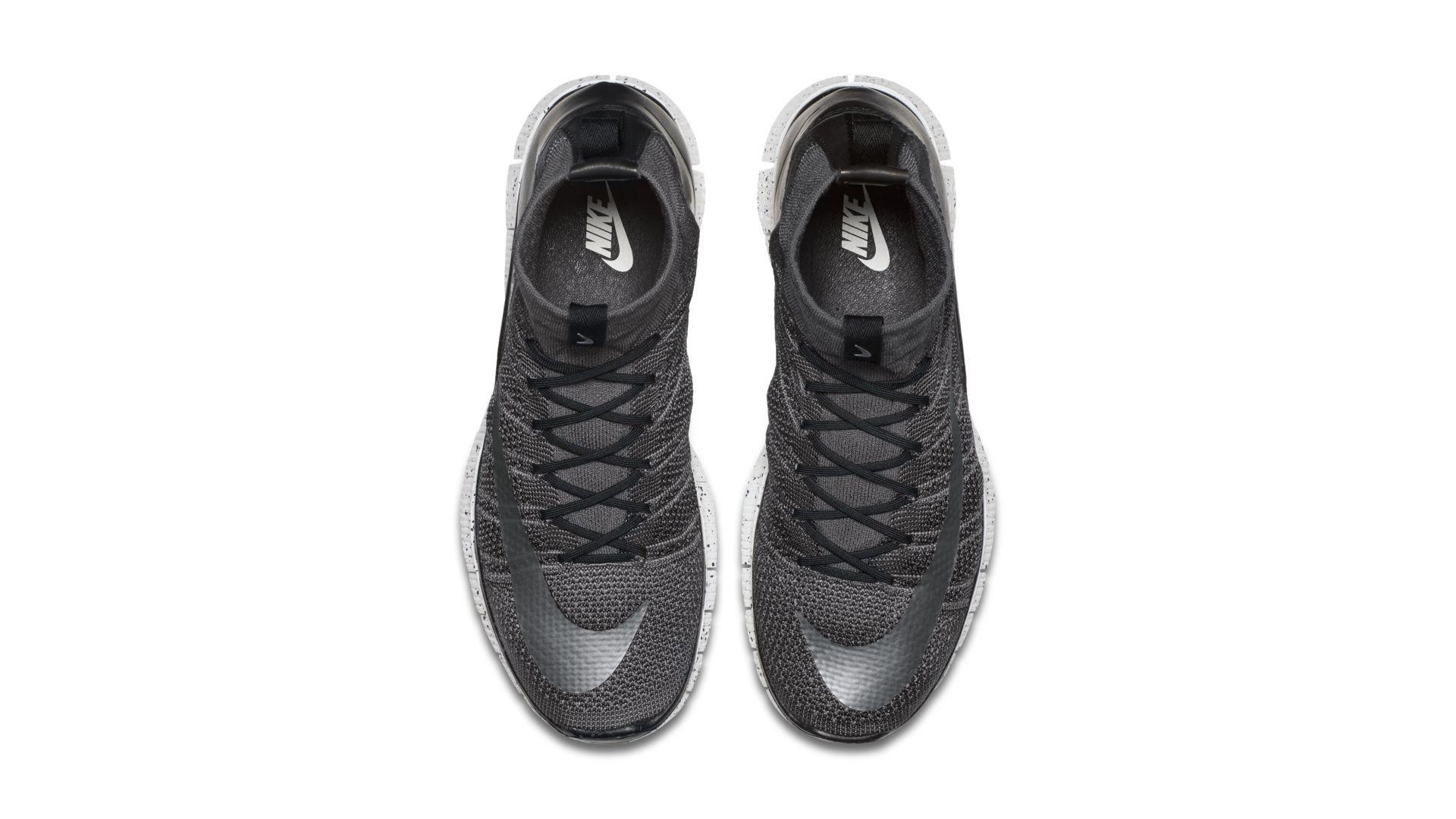 Nike Free Flyknit Mercurial Dark Grey (805554-004)