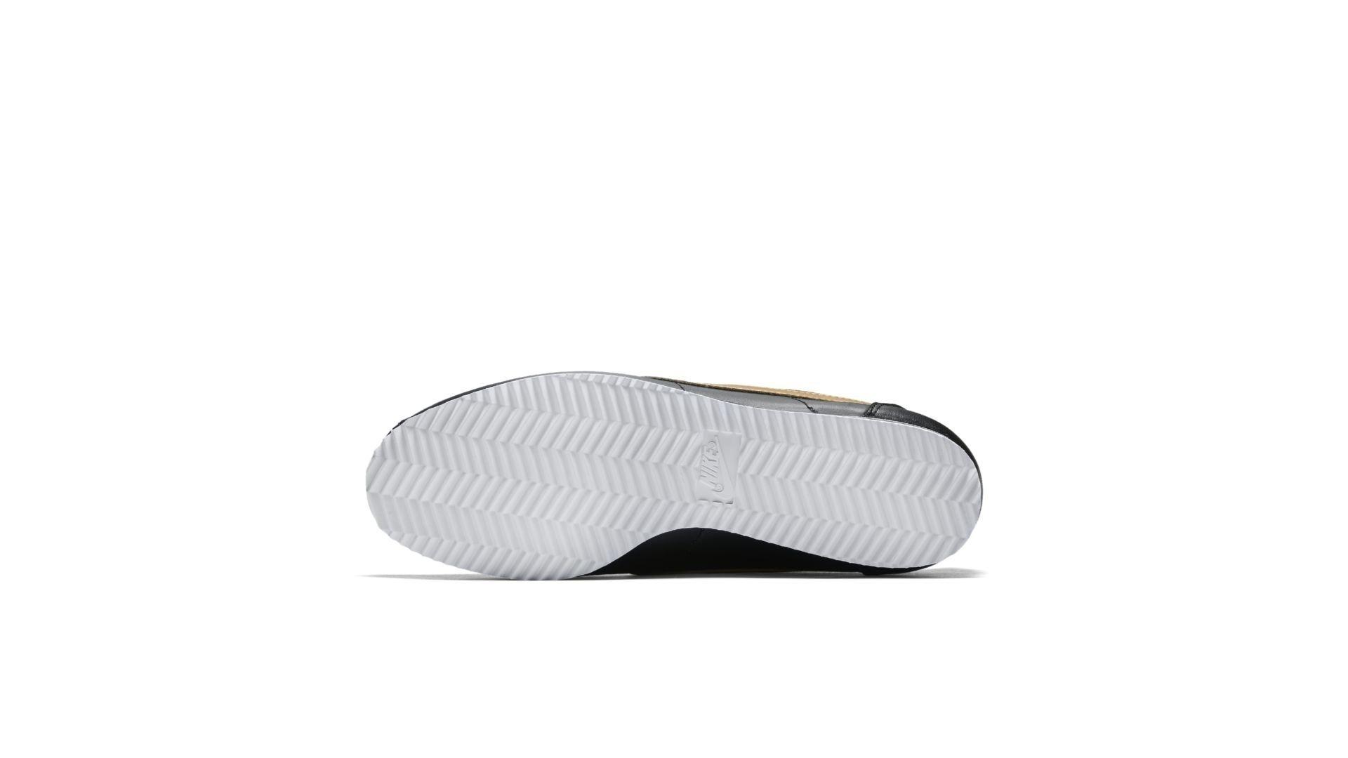 Nike Cortez Leather Black Gold (W) (807471-012)